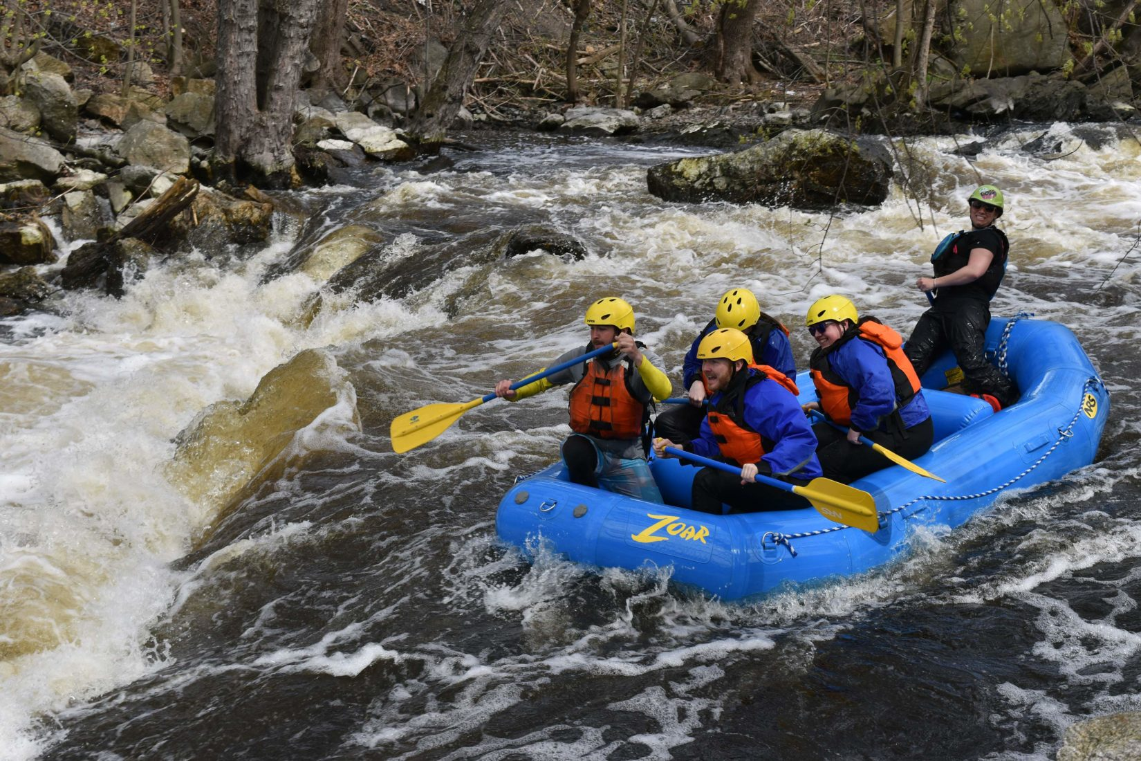 rafting, Concord River, whitewater, Zoar Outdoor, Lowell, urban