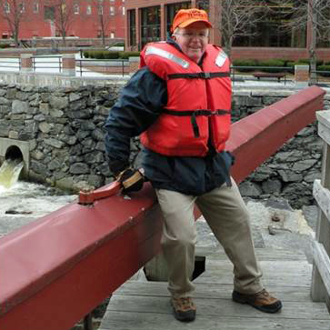 Trained, volunteer lock tenders operate the locks and greet rafters at Lower Locks at the end of their trip.