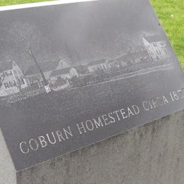 Coburn Park monument, courtesy of Damarius Goldston