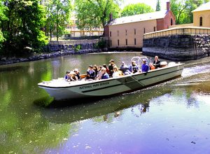 Lowell National Historical Park Canal Boat Tour