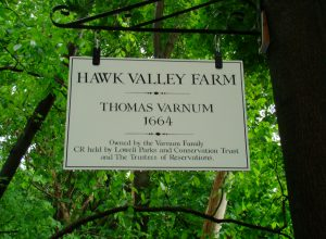 Hawk Valley Farm Sign