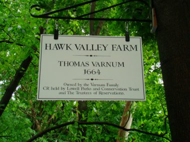 Hawk Valley Farm Sign