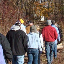 Wildlife tracking program at Hawk Valley Farm