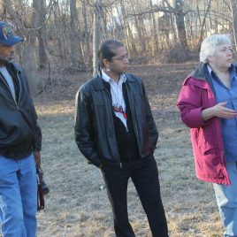 Native American tribal leaders from throughout New England gathered at Hawk Valley, 2014