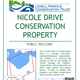Nicole Drive property sign