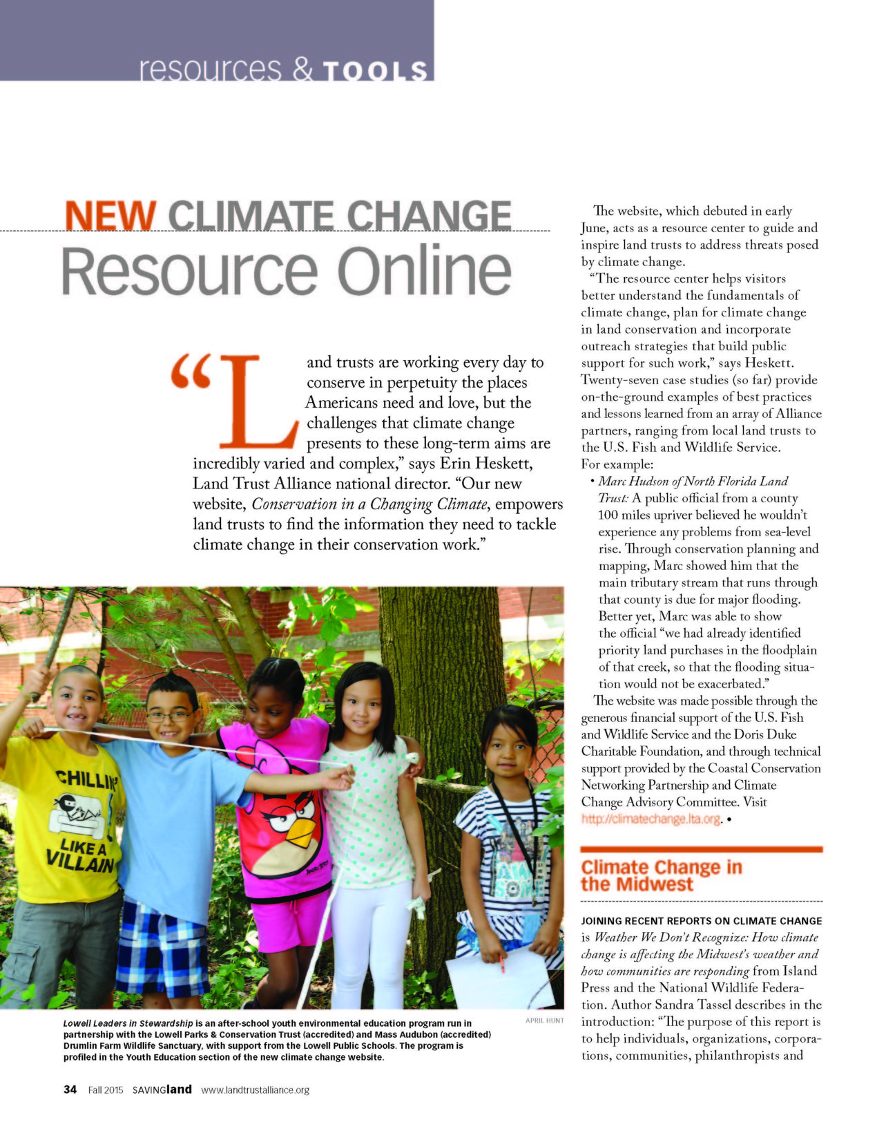 climate change youth