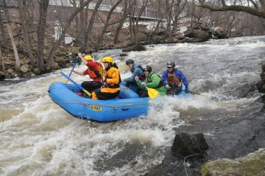Concord River whitewater rafting