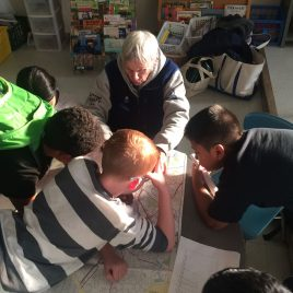 Mapping resources at Robinson School