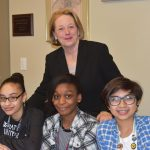Congresswoman Tsongas Visits with Local Youth small for web